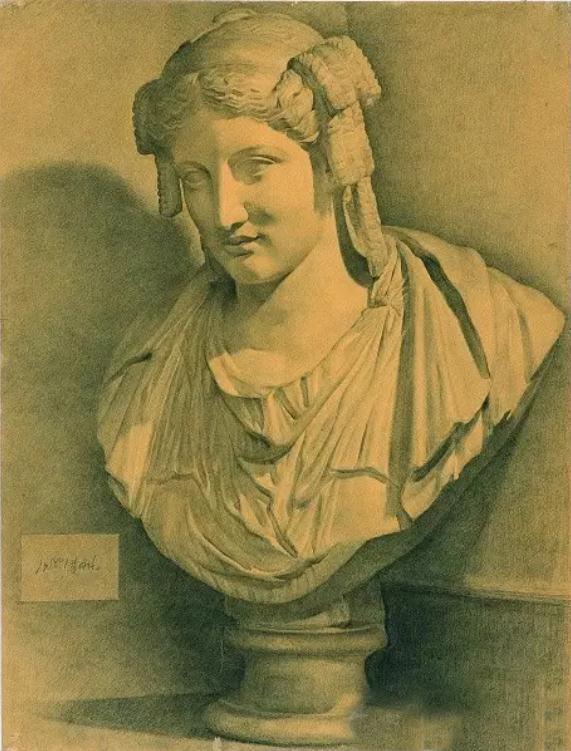 中央美术学院史上最经典的素描石膏像,重庆素描培训画室,17