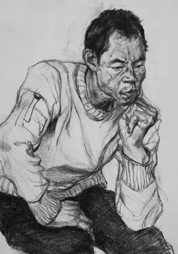 重庆美术培训班分享十年前的美院美术校考高分卷,画成这样就能上美院?图九