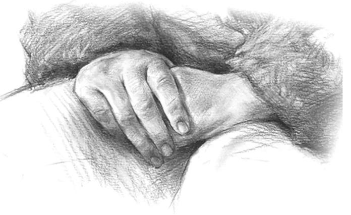 重庆美术集训画室教你几招手的绘画,对速写和素描都有很大帮助!