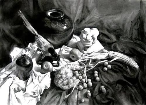 素描总是拿不到高分?重庆画室分享造型和透视绘画技巧