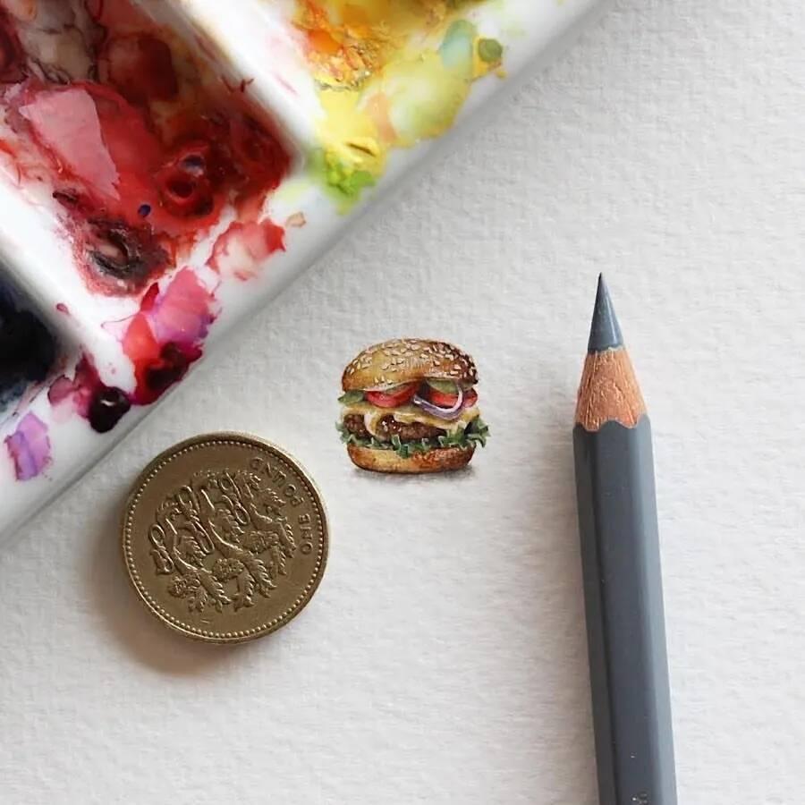 身为重庆美术培训画室老师,这么小的还是第一见!
