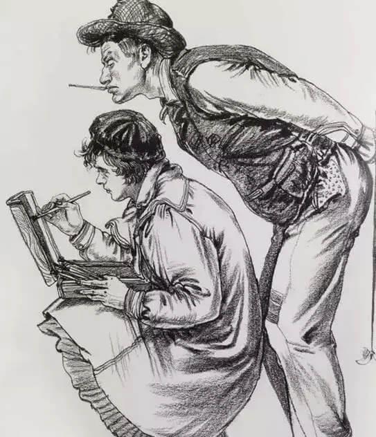 想让画面更高级,重庆美术集训美术生要懂得掌握「速写」的生动性!