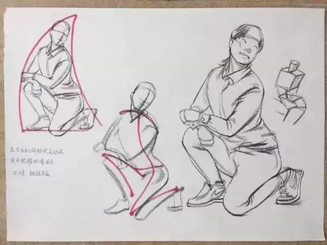 重庆美术培训画室:想要快速提高速写水平,这六点要牢记!