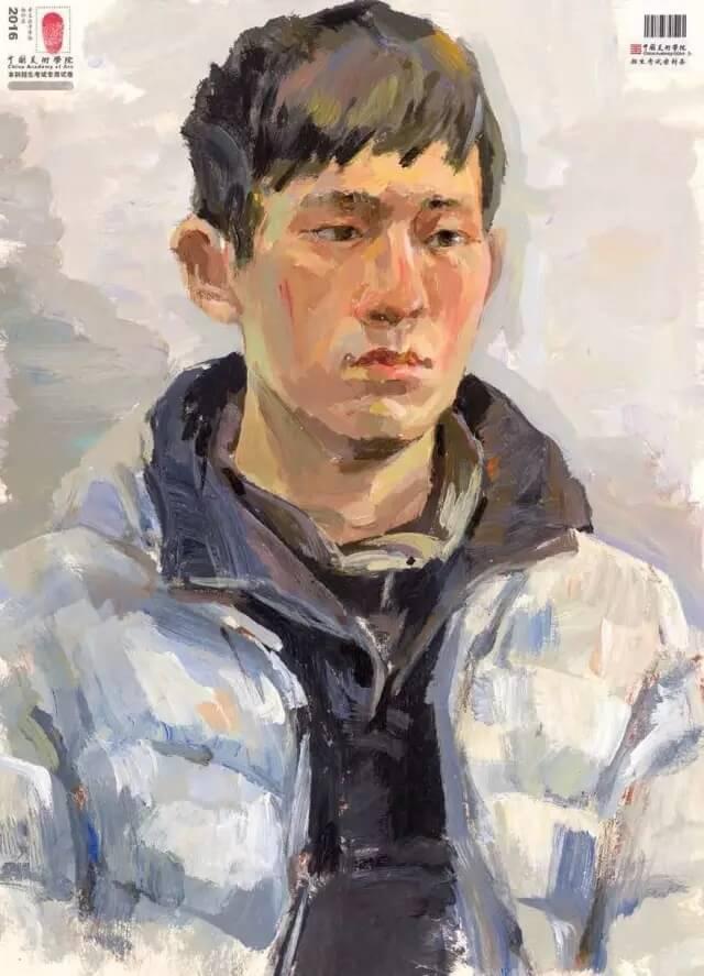 重庆美术培训班分享十年前的美院美术校考高分卷,画成这样就能上美院?图七