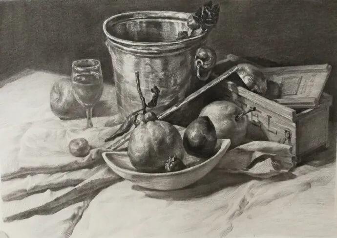 素描能力提升的3个方法 | 重庆美术培训画室教程干货!