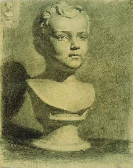 中央美术学院史上最经典的素描石膏像,重庆素描培训画室,14