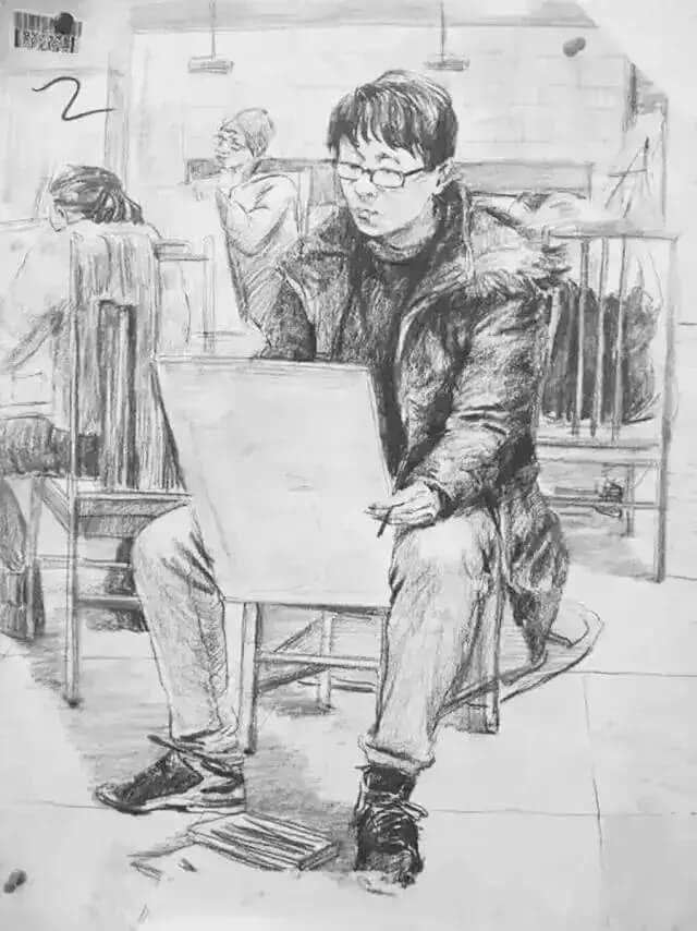 重庆美术培训班分享十年前的美院美术校考高分卷,画成这样就能上美院?图二十一