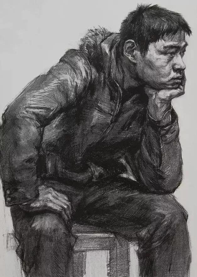 重庆美术培训班分享十年前的美院美术校考高分卷,画成这样就能上美院?图十二