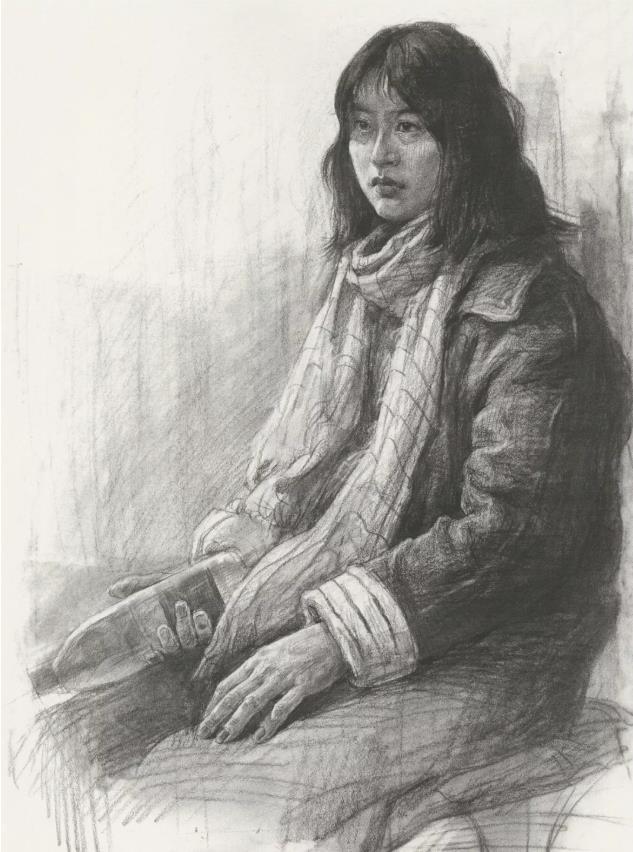国美素描头像,重庆画室,重庆素描培训,05