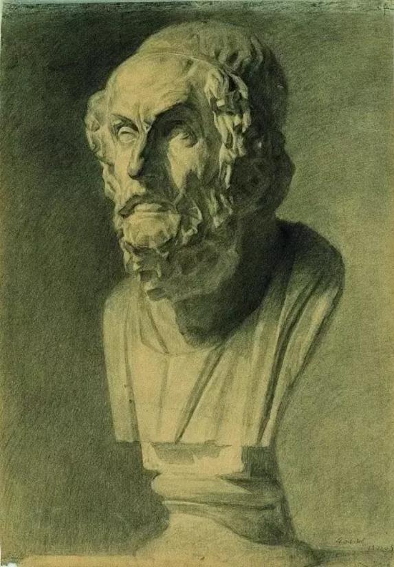 中央美术学院史上最经典的素描石膏像,重庆素描培训画室,18