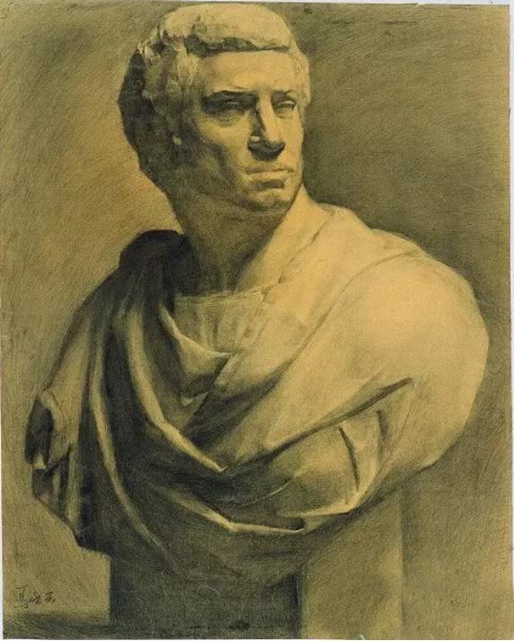 中央美术学院史上最经典的素描石膏像,重庆素描培训画室,10