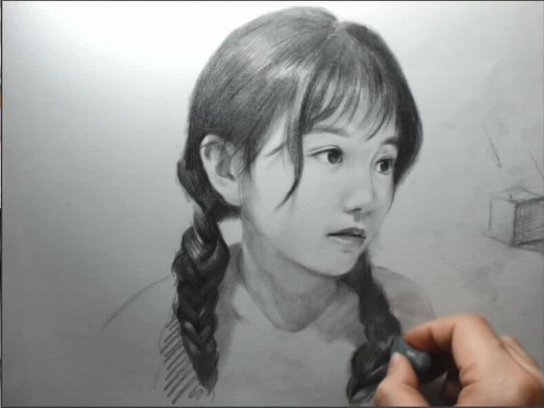 重庆美术集训画室美术生想在素描上拿高分,必须做到精益求精!