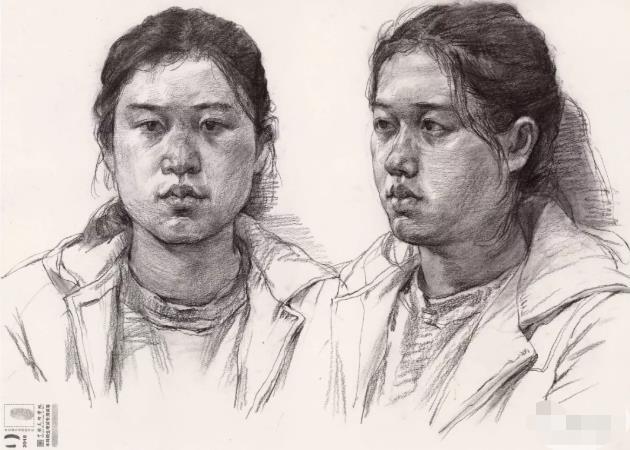 国美素描头像,重庆画室,重庆素描培训,04