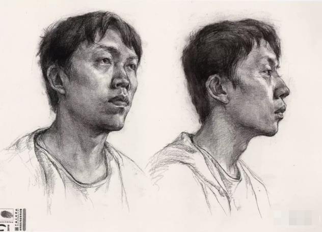 国美素描头像,重庆画室,重庆素描培训,07