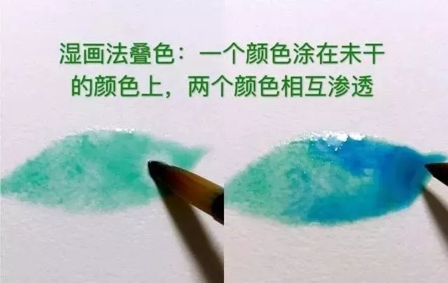 重庆美术培训画室为你送上八种水彩画的入门技巧!