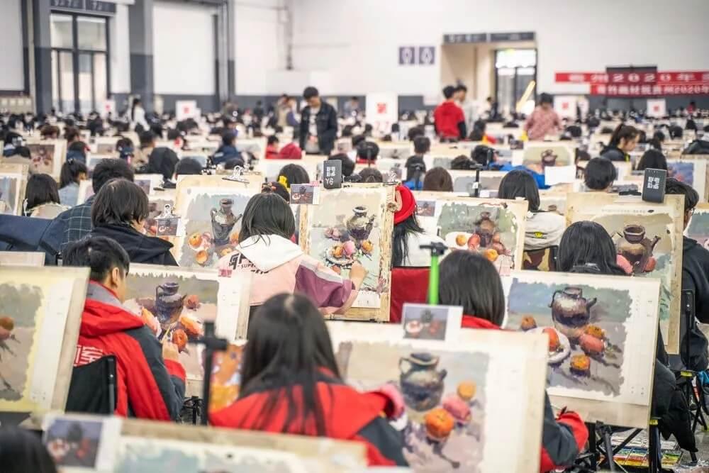 已有省市发布2021届美术联考大纲,重庆美术培训画室美术生速看!