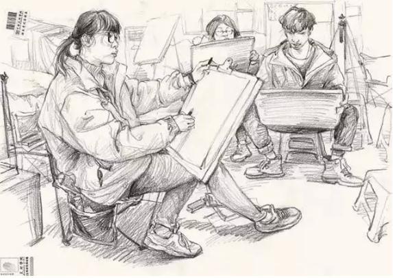 重庆画室,重庆速写培训画室,重庆速写干货,03