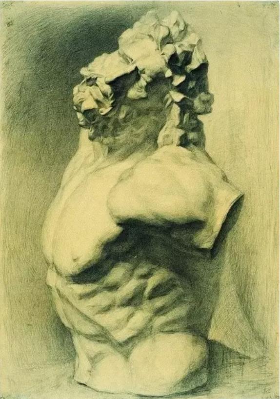中央美术学院史上最经典的素描石膏像,重庆素描培训画室,16