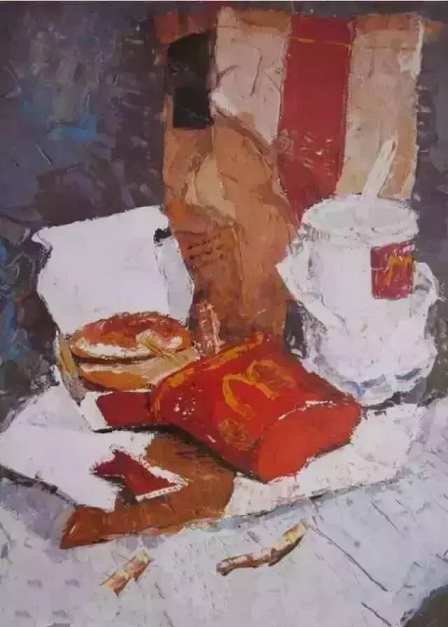 重庆美术培训班分享十年前的美院美术校考高分卷,画成这样就能上美院?图二十八