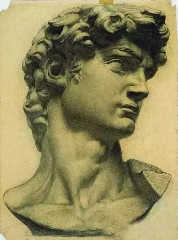 中央美术学院史上最经典的素描石膏像,重庆素描培训画室,08