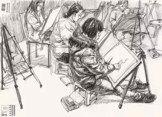 重庆画室,重庆速写培训画室,重庆速写干货,08
