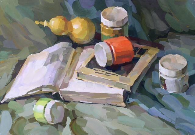 别总沉迷高级灰,重庆美术培训画室带你了解下纯色画法?