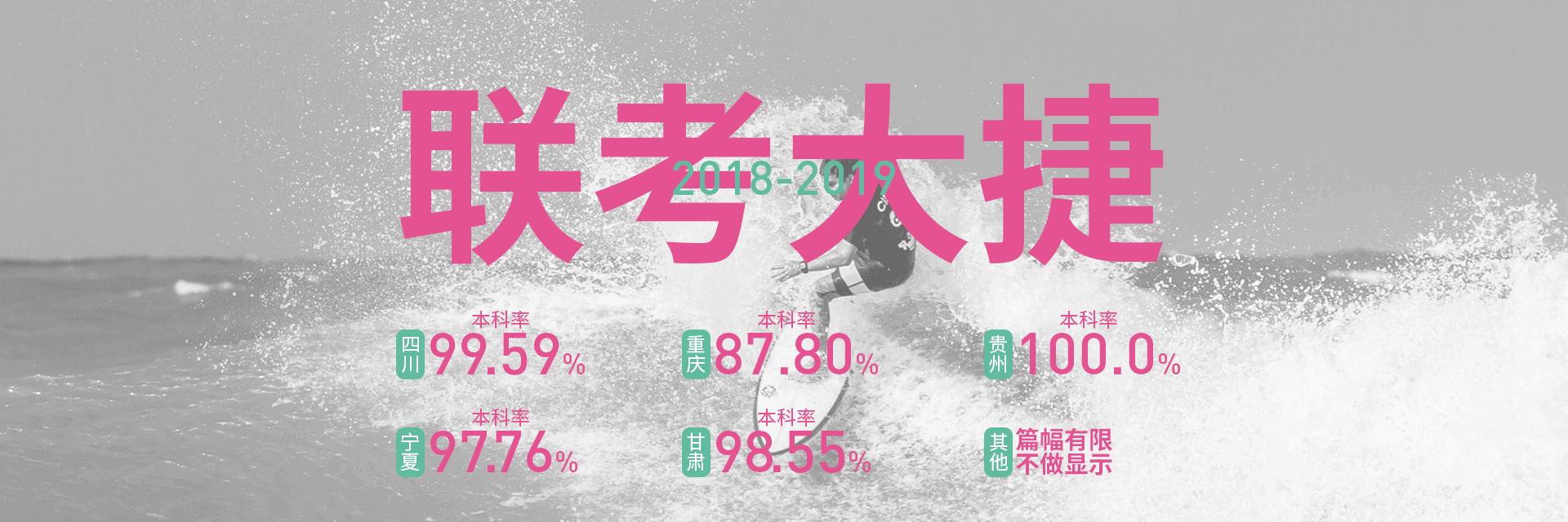 2018-2019年重庆龙行美术艺术培训学校联考战绩