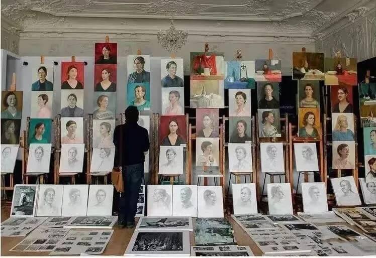 美术艺考生,想知道国外的艺考选拔是怎么样子吗?重庆画室告诉你!