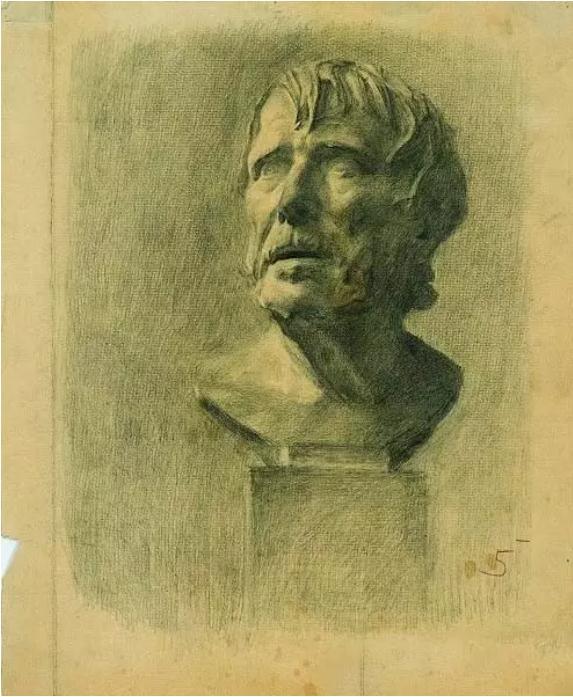 中央美术学院史上最经典的素描石膏像,重庆素描培训画室,12