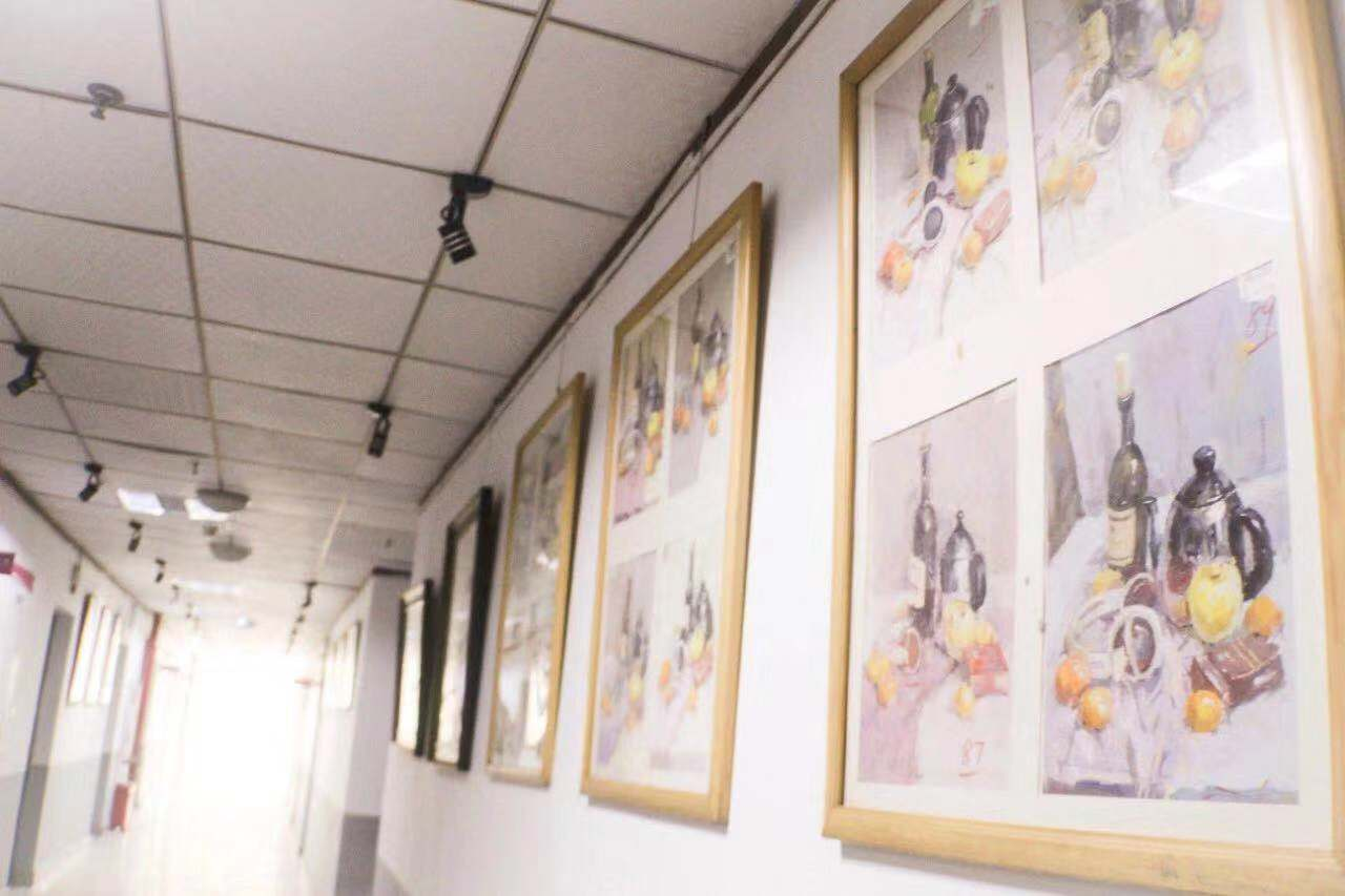 重庆美术培训画室环境-教学环境