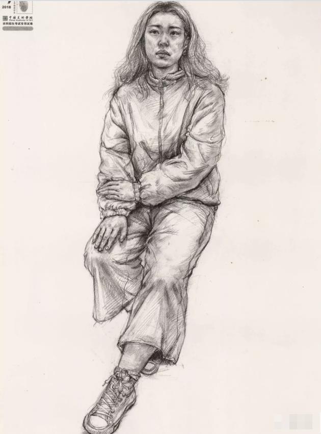 国美素描头像,重庆画室,重庆素描培训,06