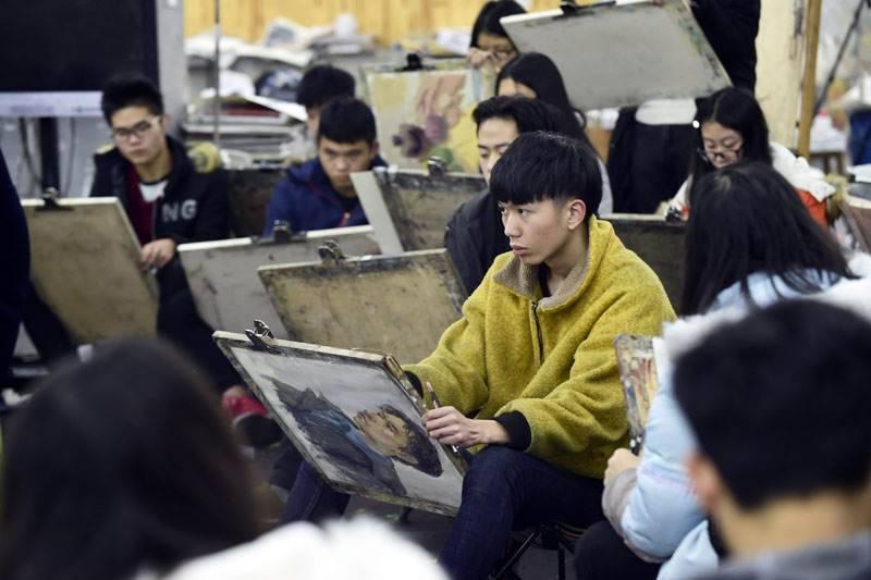 重庆美术集训,重庆十大画室04