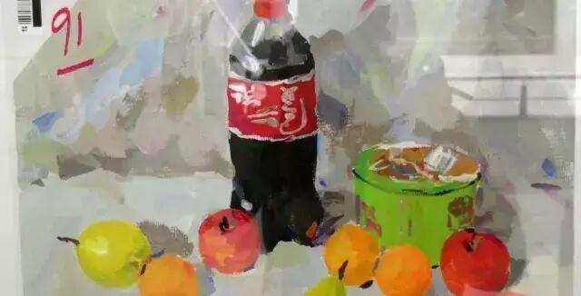 重庆美术培训班分享十年前的美院美术校考高分卷,画成这样就能上美院?图二十四