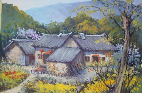 """重庆美术培训画室老师总说你的色彩画很""""脏""""""""粉""""原因出自哪里?"""
