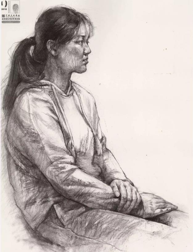 国美素描头像,重庆画室,重庆素描培训,11