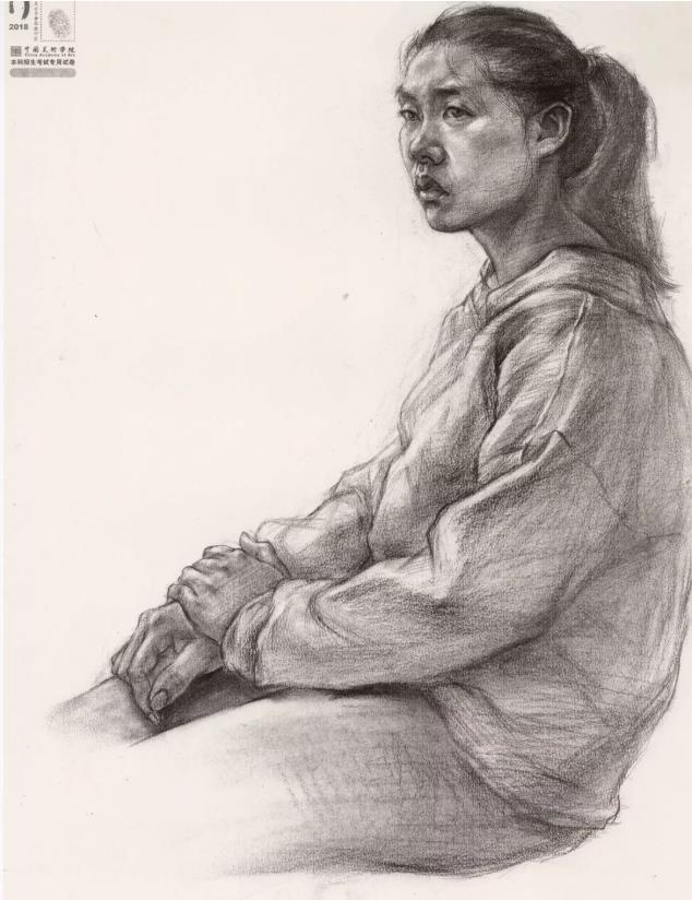 国美素描头像,重庆画室,重庆素描培训,12