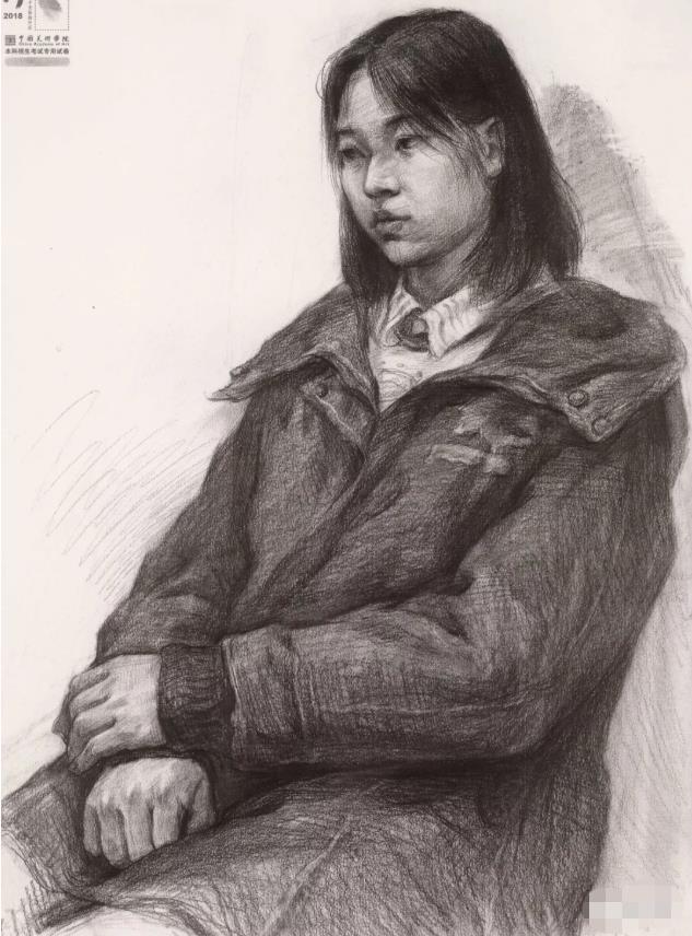 国美素描头像,重庆画室,重庆素描培训,10