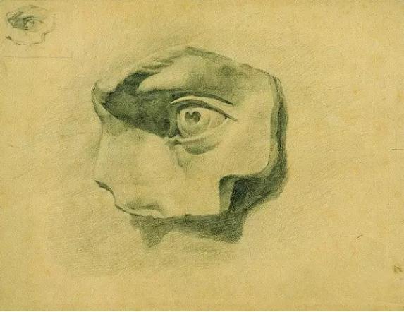 中央美术学院史上最经典的素描石膏像,重庆素描培训画室,09
