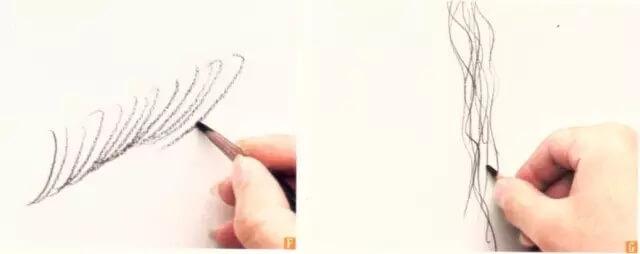 """美术干货!素描绘画中,几种实用的""""线""""的运用技巧!图五"""