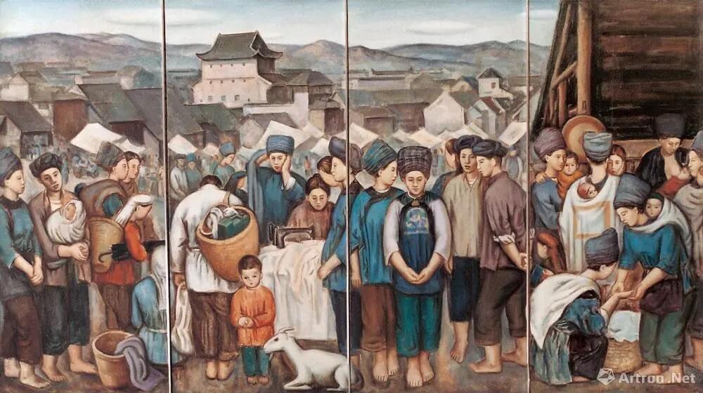 重庆美术集训画室带你开眼界啦,八大美院油画系教授作品大比拼!