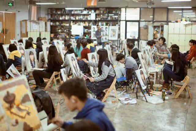 重庆十大画室:美术应届生和复读生,选画室区别竟然这么大!