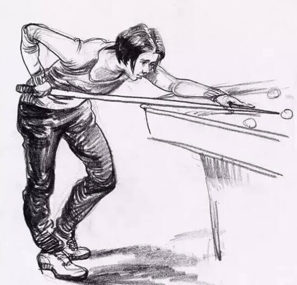 速写人物练习技巧有哪些?