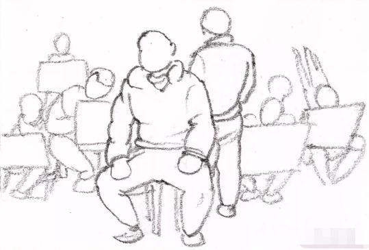 重庆画室超强干货丨校考必备的10种场景速写构图方式-重庆美术培训
