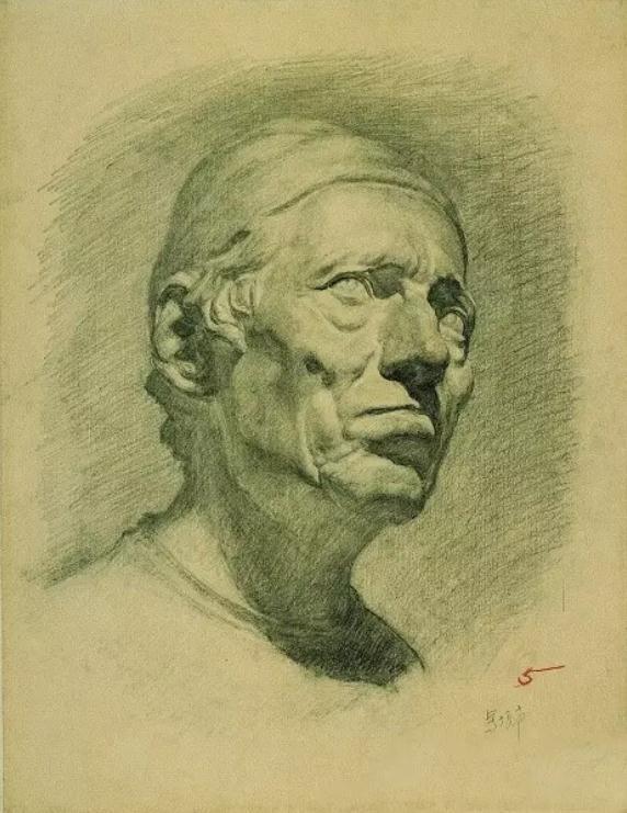 中央美术学院史上最经典的素描石膏像,重庆素描培训画室,05