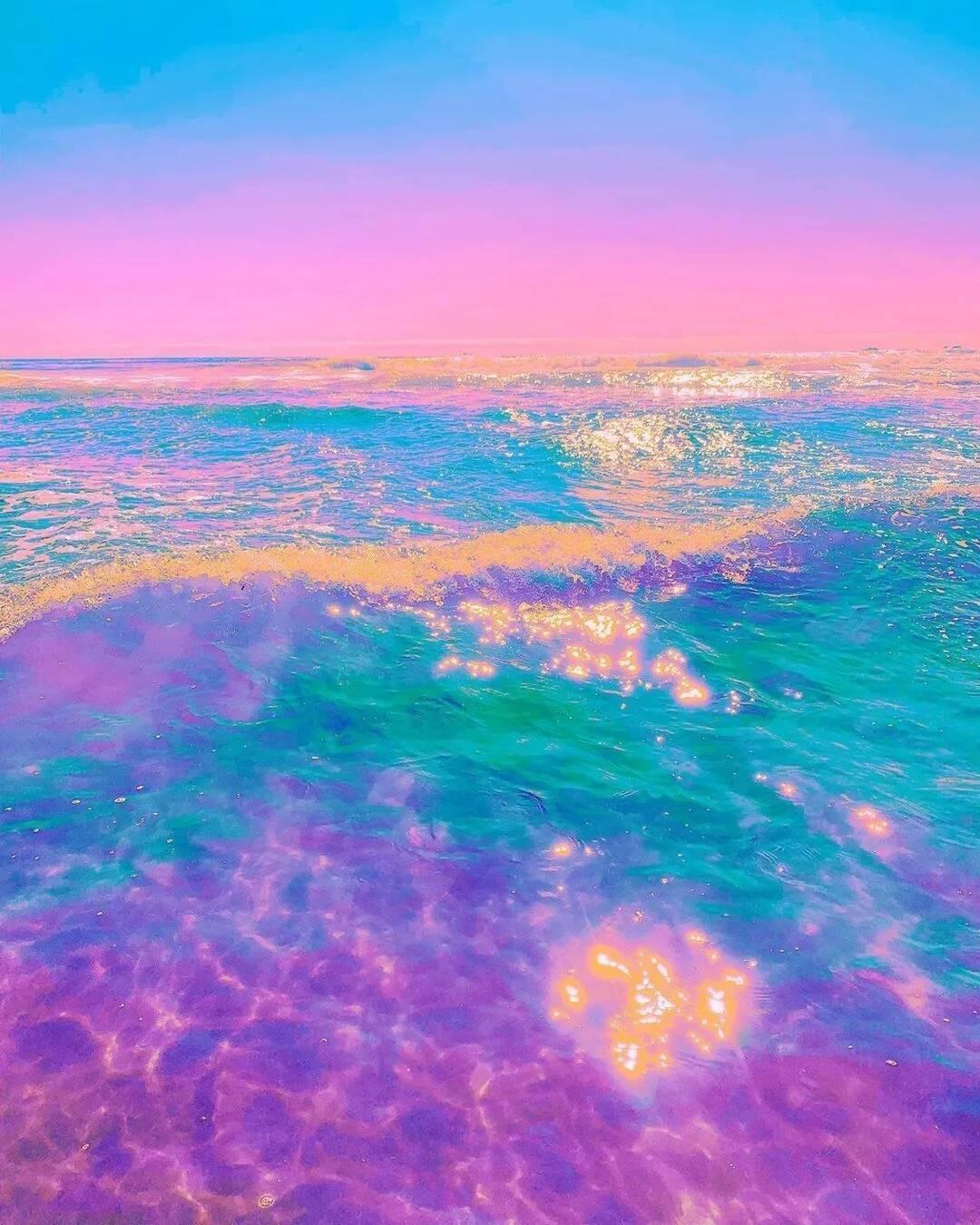 当彩虹和星星落进海洋,重庆美术培训美术生:都想恋爱了...!