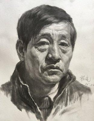 重庆十大画室素描教程 正面素描头像的刻画要点!