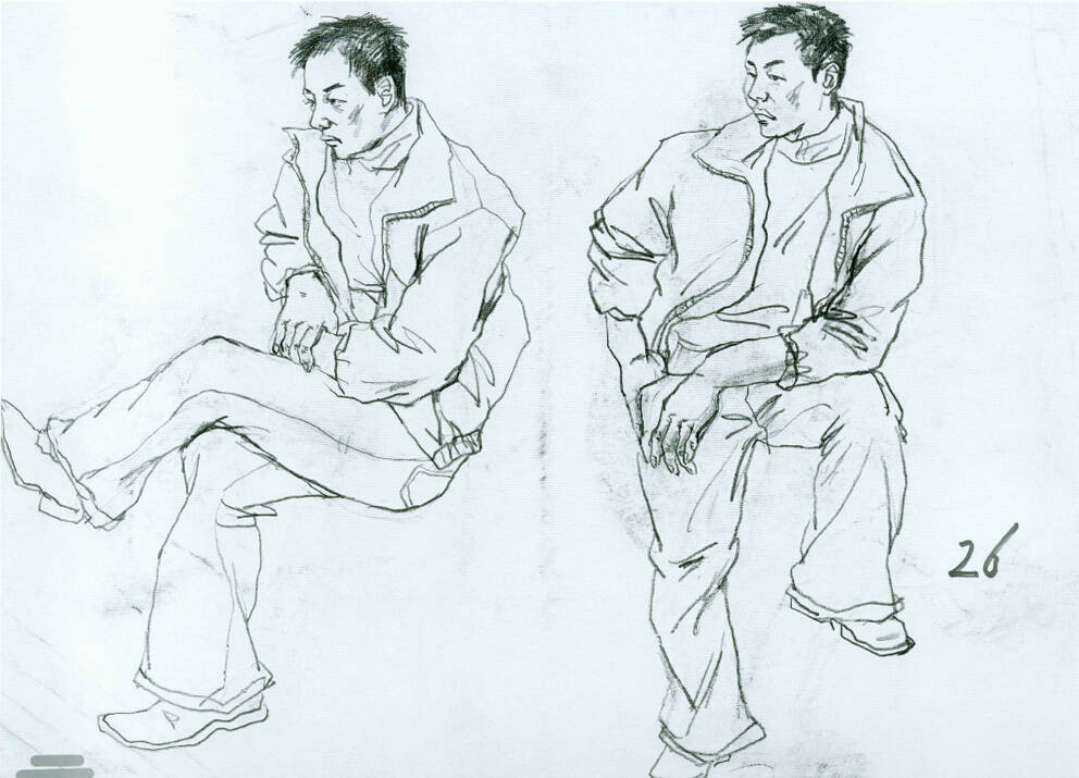 来重庆美术培训画室学画,速写画得好,素描也能轻松解决!