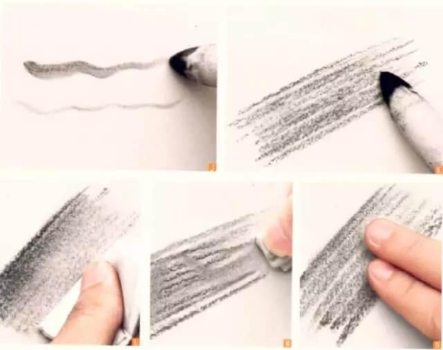 重庆美术集训画室素描知识点讲解 | 你知道吗素描排线有很多讲究?