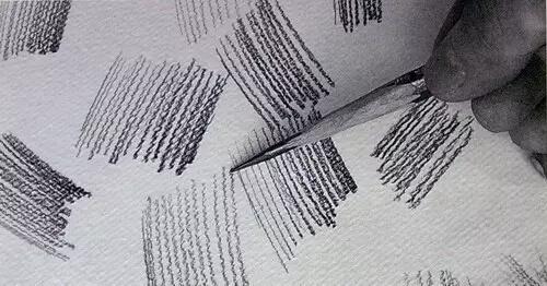 """美术干货!素描绘画中,几种实用的""""线""""的运用技巧!"""