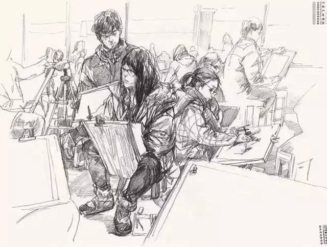 重庆画室,重庆速写培训画室,重庆速写干货,09